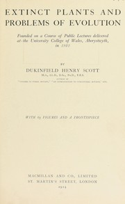 Cover of: Extinct plants and problems of evolution | Dukinfield Henry Scott