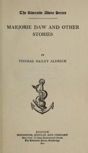 Cover of: Marjorie Daw, and other stories