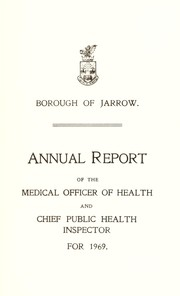 Cover of: [Report 1969] | Jarrow (England). Borough Council