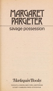 Cover of: Savage possession