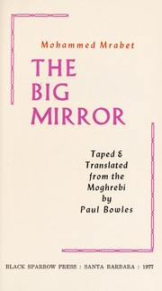 Cover of: The big mirror