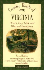 Cover of: Country roads of Virginia