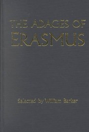 Cover of: Erasmi Colloquia selecta, or, The select colloquies of Erasmus: With an English translation, as literal as possible. : Designed for the use of beginners in the Latin tongue.