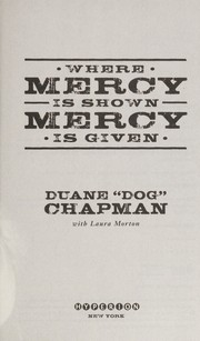 Cover of: Where mercy is shown, mercy is given