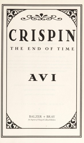 Crispin : the end of time by
