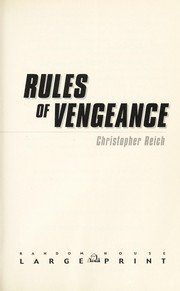 Cover of: Rules of vengeance