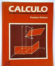 Cover of: Cálculo |