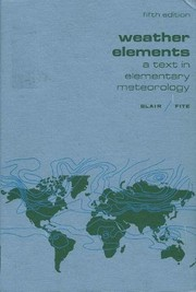 Cover of: Weather elements | Thomas A. Blair