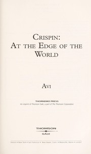 Cover of: Crispin At the Edge of the World |