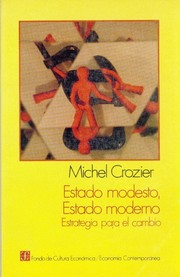 Cover of: Estado modesto, estado moderno by