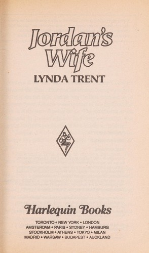Jordan's Wife by Lynda Trent