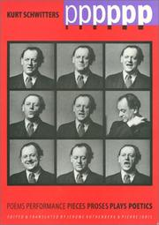Cover of: Pppppp: Kurt Schwitters Poems, Performance, Pieces, Proses, Plays, Poetics (Border Lines: Works in Translation)