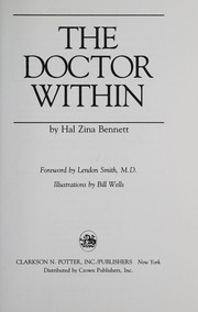 Cover of: The doctor within | Hal Zina Bennett
