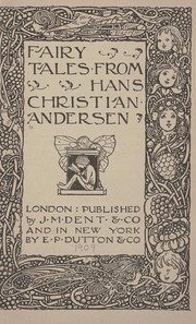 Cover of: Fairy tales from Hans Christian Andersen. | Hans Christian Andersen