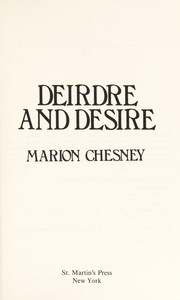 Cover of: Deirdre and Desire