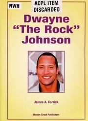 Cover of: Dwayne The Rock Johnson | James A. Corrick