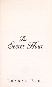 Cover of: The secret hour