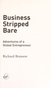 Cover of: Business stripped bare