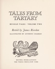 Cover of: Tales from Tartary | Riordan, James