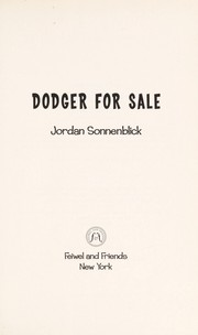 Cover of: Dodger for sale