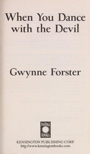 Cover of: When you dance with the devil | Gwynne Forster