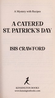 Cover of: A catered St. Patrick's Day