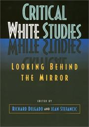 Cover of: Critical White Studies
