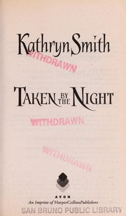 Cover of: Taken By the Night: Brotherhood of Blood book #3