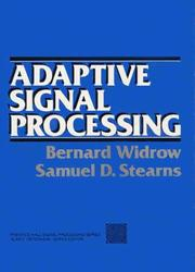 Cover of: Adaptive signal processing