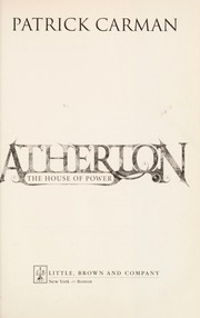 Cover of: Atherton: house of power