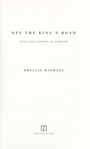 Off The Kings Road 2006 Edition Open Library