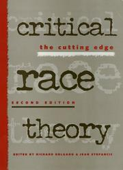 Cover of: Critical Race Theory 2Nd Ed