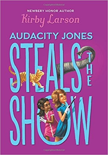 Audacity Jones Steals the show by