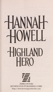 Cover of: Highland hero | Hannah Howell