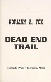 Cover of: Dead end trail