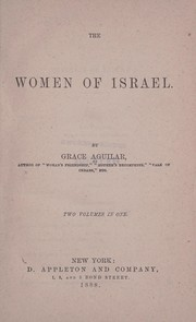 Cover of: The women of Israel