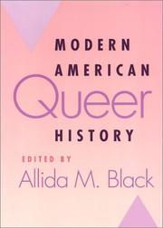 Cover of: Modern American Queer History