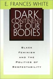Cover of: Dark Continent of Our Bodies