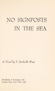 Cover of: No signposts in the sea