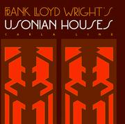 Cover of: Frank Lloyd Wright's Usonian houses