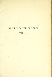 Cover of: Walks in Rome