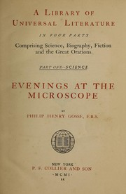 Cover of: Evenings at the microscope
