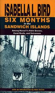 Cover of: Six Months in the Sandwich Islands