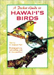Cover of: A Pocket Guide to Hawaii's Birds | H. Douglas Pratt