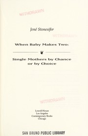 Cover of: When baby makes two