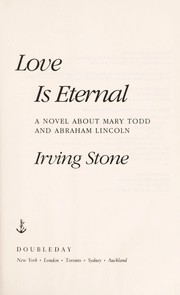 Cover of: Love is eternal