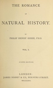 Cover of: The romance of natural history