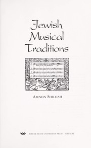 Cover of: Jewish musical traditions