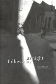 Cover of: As night fellows day