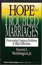 Cover of: Hope for troubled marriages | Everett L. Worthington